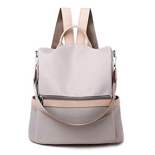 Women Backpack,AopnHQ Shoulder Bags, Leather Convertible Ladies Rucksack Tassel Zipper Pocket Shoulder Tote Bag