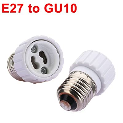 E27 to GU10 Light Lamp Bulb Adapter Converter.