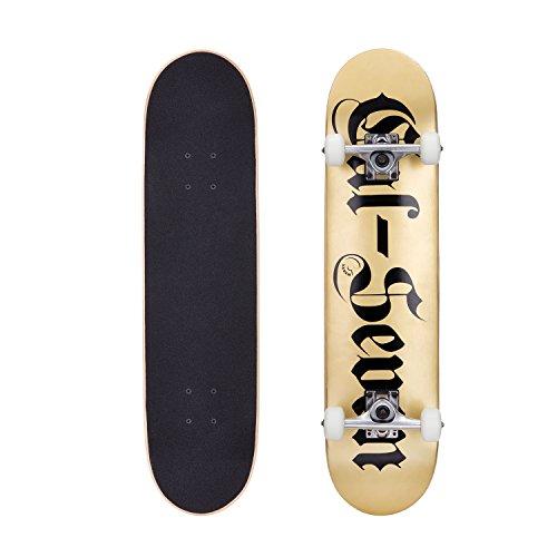 Cal 7 Oakland 7.5 Complete Skateboard, 52x31 99A PU Wheels