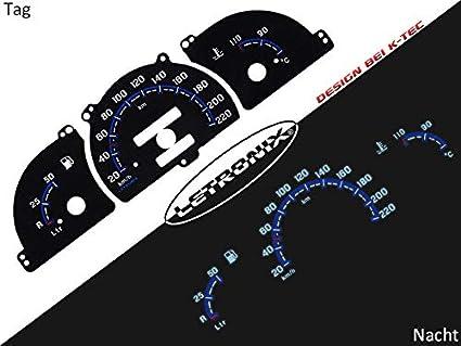 Letronix Plasma Tacho Tachoscheiben Geeignet Für Auto Astra F Vectra A 20 220km H O Dzm Auto