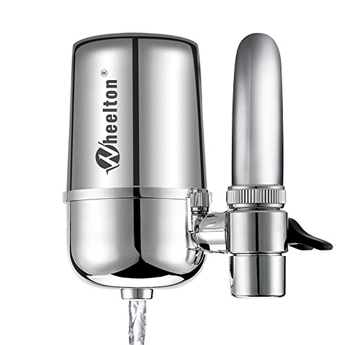 Advanced Faucet Water Filter Isolate Harmfull Substance,Wheelton F-102,Chrome