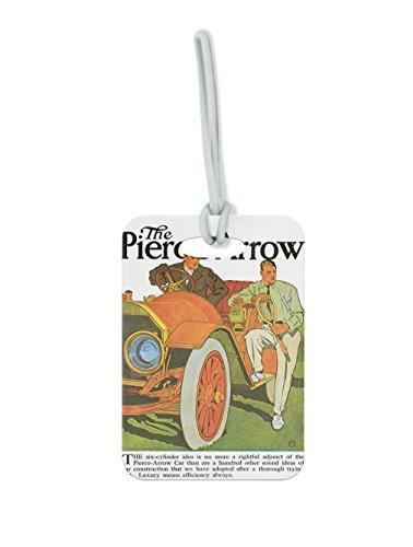 The Pierce Arrow Vintage Auto Poster #1 Luggage Tag Finder Brief - Bf Pierce