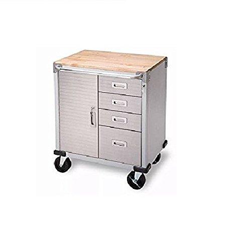 4-Drawer Rolling Garage Steel Metal Storage Cabinet Tool Box Bench Most (4 Drawer Garage Storage)