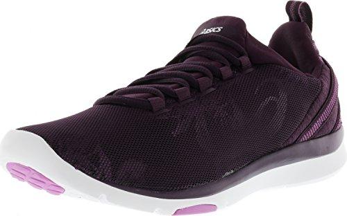 Cross Training Womens Socks (ASICS Women's Gel-Fit Sana 3 Cross-Trainer-Shoes, Winter Bloom/Silver/Violet, 9 Medium US)