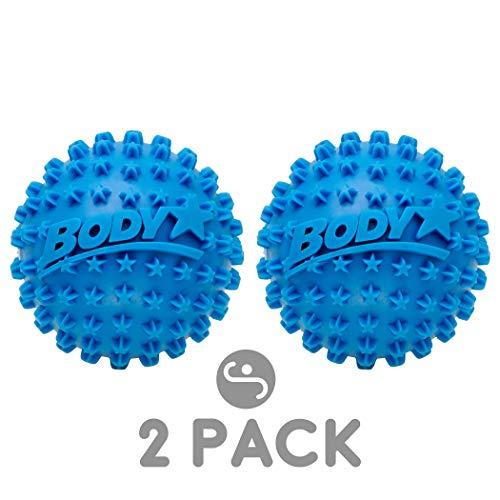 75cb2272a5 Body Star 2.5 Inch Spiky Foot Massager & Roller Ball – Deep Tissue Massage  Ideal for