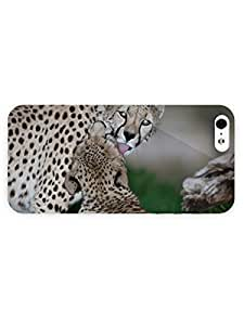 3d Full Wrap Case for iPhone 5/5s Animal Cheetahs73