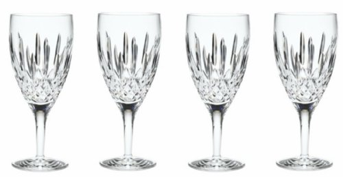 Waterford Crystal Lismore Nouveau Iced Beverage Glasses Four (4) Piece Set - 136776W