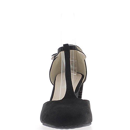 Zapatos 7 Tacón de de 5cm de Brida Mujer aq17PxCw