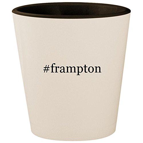 (#frampton - Hashtag White Outer & Black Inner Ceramic 1.5oz Shot Glass)