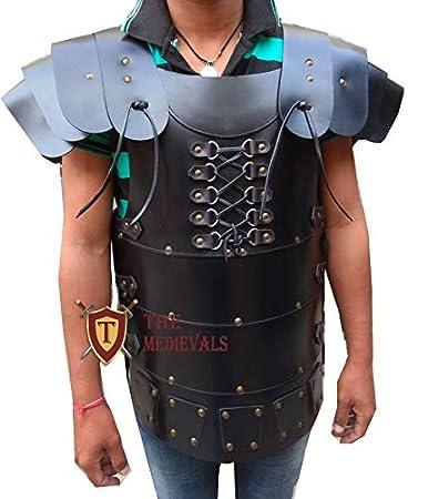 The Medieval Shop Genuine Leather Vest 4mm Leather Armor LARP Armor SCA Armor Medieval Armour