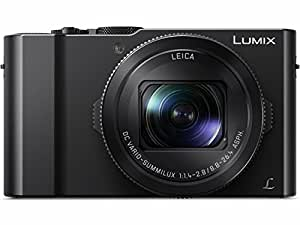 "PANASONIC LUMIX LX10 Camera, 20.1 Megapixel 1"" Large Sensor, LEICA DC Lens 24-72mm F1.4-2.8, DMC-LX10K (USA BLACK)"