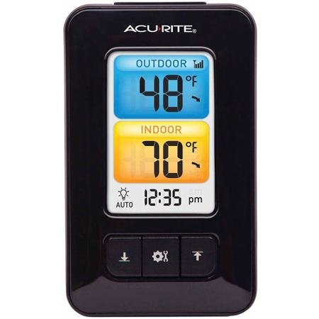 Acurite Thermometer Color Display 02029w
