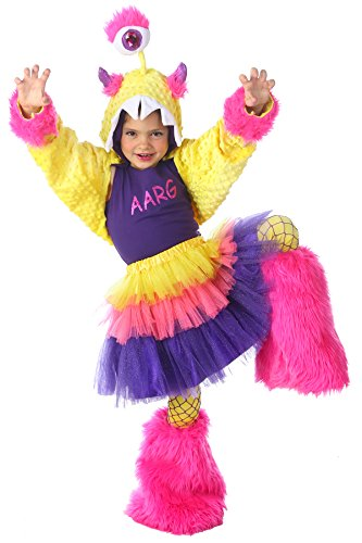 Princess Paradise Child Aarg Monster Costume Set, Multicolor, Large/X-Large (Cute Monster Costumes For Girls)