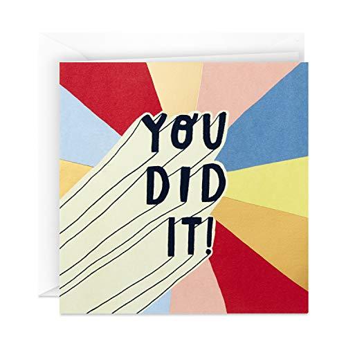 Hallmark Studio Ink Graduation Card (You Did It) -