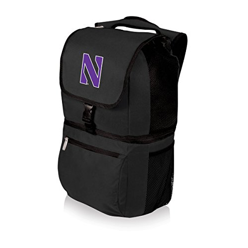(PICNIC TIME NCAA Northwestern Wildcats Zuma Insulated Backpack)