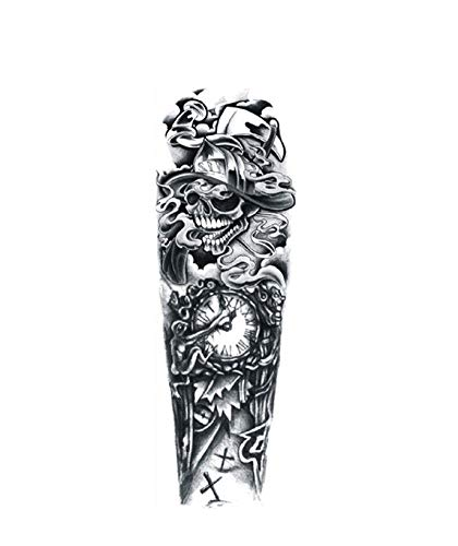 Large Arm Tattoo Power Totem Waterproof Temporary Tattoo