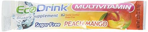 EcoDrink Complete Multivitamin Mix Drink. Peach Mango - 3...
