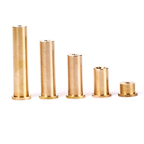 SummerHouse Golf Shaft Tip Weight 10 Pcs Brass Plug Weights for Graphite and Iron Shafts, 0.335/0.355/0.370, 2g / 4g / 6g / 8g / 10g Available