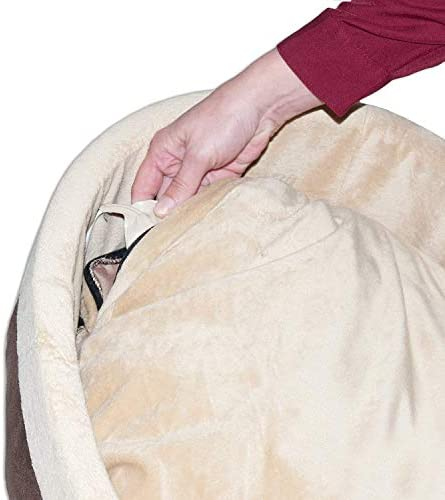 K&H PET PRODUCTS Thermo-Kitty Deluxe Hooded Cat Bed 30