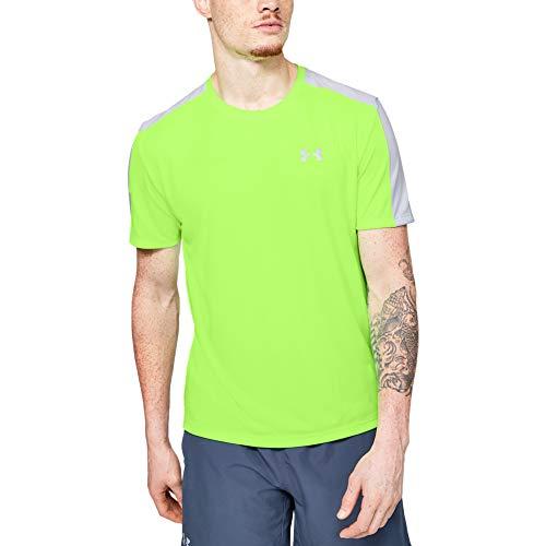 Under Armour Herren, leichtes Sportshirt mit reflektierenden Details, kurzärmliges Funktionsshirt Ua Speed Stride