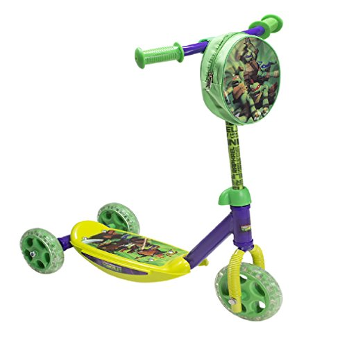 Nickelodeon PlayWheels Teenage Mutant Ninja Turtles 3-Wheel Scooter