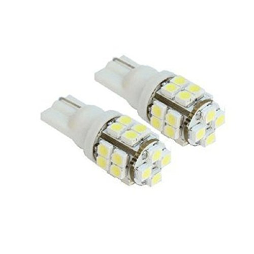 Doinshop 2pcs 20-smd T10 12v Car Light LED
