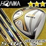 HONMA GOLF JAPAN BERES S-02 DRIVER 10 deg ARMRQ6 49 (3 stars) REGULAR flex