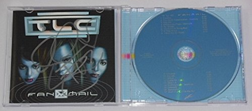 TLC Fan Mail Tionne T-Boz Watkins Hand Signed Autographed Music Cd Compact Disc Loa