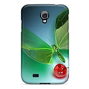 Premium [TqQ275eXeH]3d Glass Case For Galaxy S4- Eco-friendly Packaging
