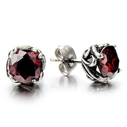 Cubic Zirconia Earrings Women Stainless