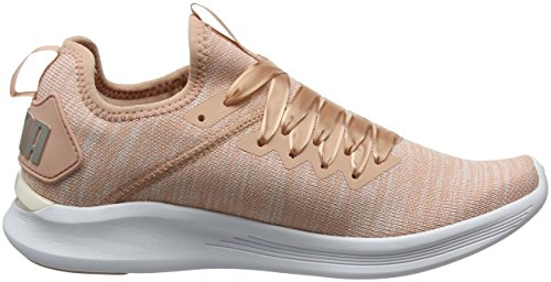 Ignite Flash Para Beige Zapatillas De Satin puma Puma Beige White Mujer Cross peach pearl Wn's Evoknit Ep 45dnqz