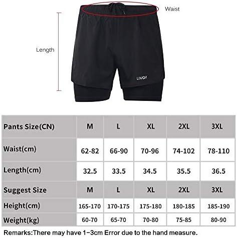 1ショーツメンズ速乾性通気性のアクティブトレーニングスポーツジョギング・マラソンサイクリングフィットネスで2 (Color : Dark Grey, Size : M)