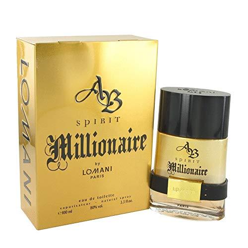 Spirit Millionaire By Lomani Eau De Toilette Masculino 100 ml