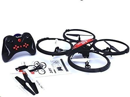 TOYEN RC Drone for Kids and Beginners, RC Quadcopter with Camera, Remote Control Drone with LED Lights, Drone Support One-Key 360°flip, L/R Hand RC Mode, Altitude Hold, Gifts for Boys Girls
