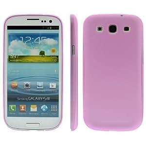 Para Samsung S3 i9300 Ultra delgada 0,2mm Carcasa dura de TPU/Funda/Bumper/Funda/Carcasa/Protección Color Rosa
