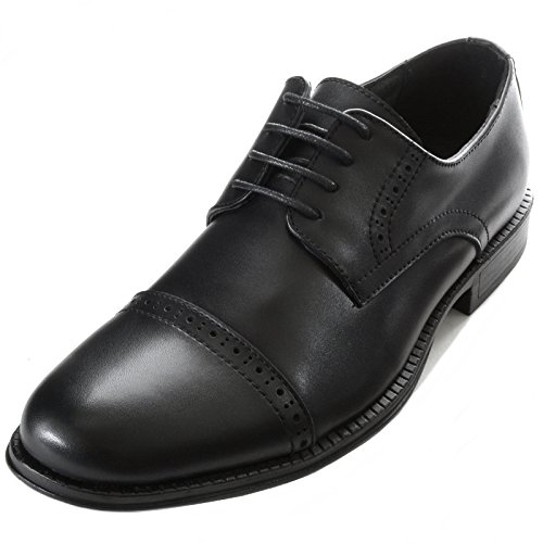 Alpine-Swiss-Arve-Mens-Genuine-Leather-Lace-up-Oxford-Dress-Shoes-Brogue-Cap-Toe