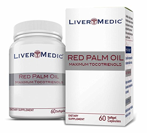 Red Palm Oil - Highest Concentration Tocotrienols: 152X [329mg] Non-GMO for Liver, Cardiac & Brain Function | Preferred by Naturopathic Physicians