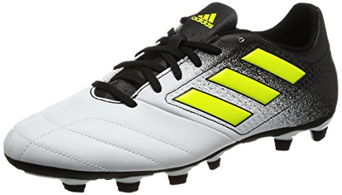 adidas Ace 17.4 Fxg, Botas de Fútbol para Hombre Multicolor (Ftwr White/solar Yellow/core Black)