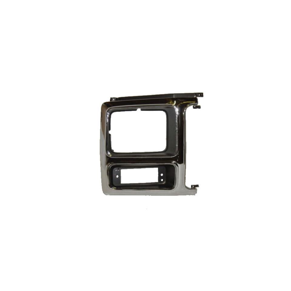 OE Replacement Ford Passenger Side Headlight Door (Partslink Number FO2513148)