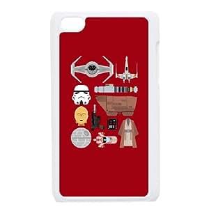 iPod Touch 4 Case White Star Wars Essentials QLL Survivor Phone Case