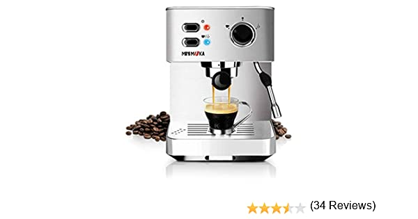 Minimoka CM-1682 - Cafetera Express (15 bares, manual) : Amazon.es ...