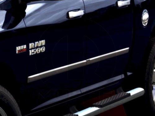 2011-2013 Ram 1500 Quad Cab Chrome Door Molding-Bodyside. Set of 4 (Door Cab Quad Chrome)