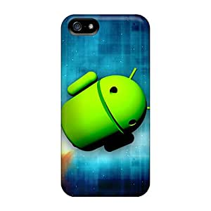 Hard Plastic Iphone 5/5s Case Back Cover,hot Space Droid Case At Perfect Diy