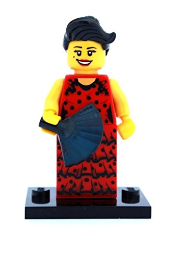 Rare collection model!!! New arrival!!!NEW LEGO MINIFIGURES SERIES 6 8827 - Flamenco Dancer New Arrival Collection
