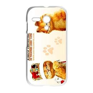 GARFIELD Motorola G Cell Phone Case White acvp