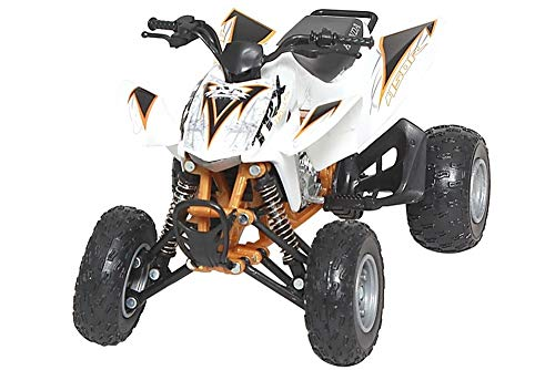 New Ray Honda TRX450R Model - 1:12 Scale/White