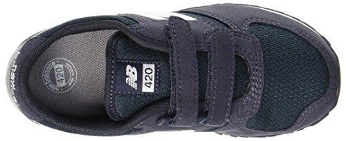 New Balance 420v1, Zapatillas Unisex Niños Azul (Navy/grey)