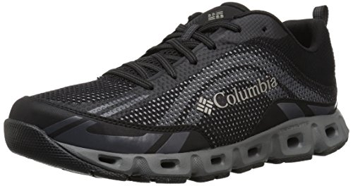 Columbia Men's Drainmaker IV Water Shoe, Black, lux, 13 Regular US