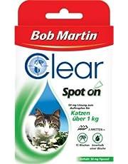Bob Martin Clear 50 mg Lösung zum Auftropfen für Katzen, 3 Stück