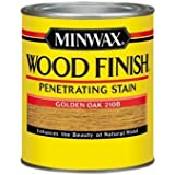 Minwax 70001444 Wood Finish Penetrating  Stain, quart, Golden Oak